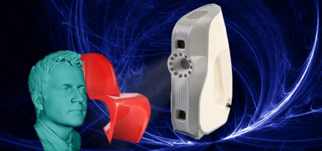 Artec Eva - Ręczny skaner 3D dla profesjonalistów